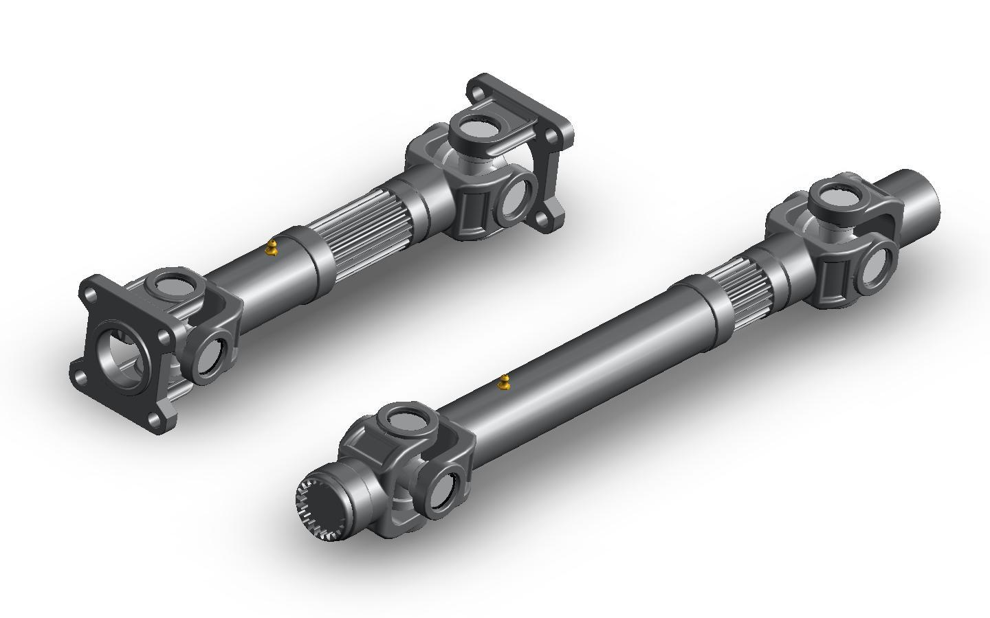 Composition and Application of Automobile Drive Shaft
